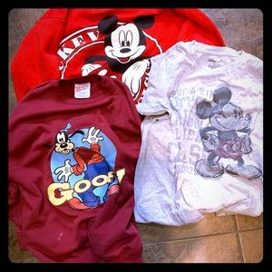 Tops - Disney sweatshirt Mickey Mouse Large and  Med